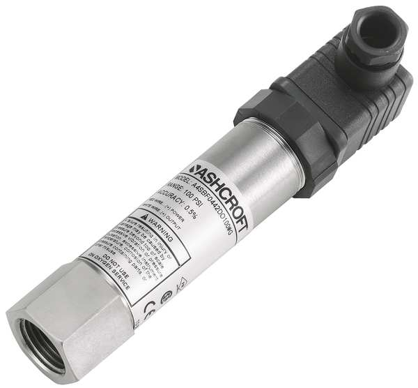 Ashcroft Intrinsically Safe Transducer, 0 to 30psi A4SBF0442D030#