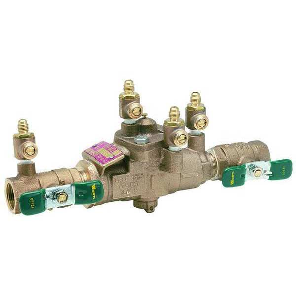 Watts Reduced Pressure Zone Backflow Preventer 1/2 LF 009QT