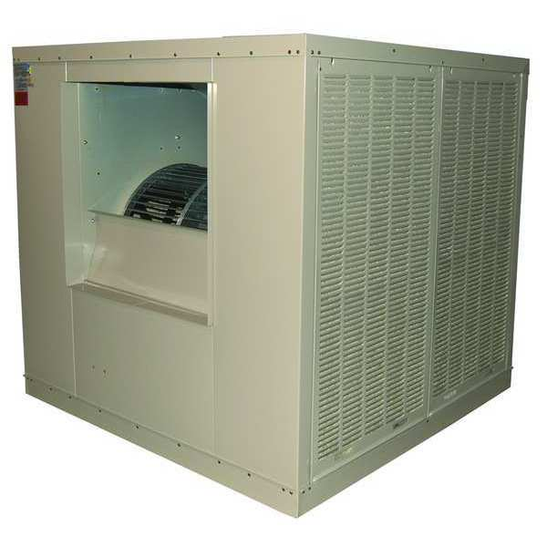 Champion Ducted Evaporative Cooler with Motor 16,000 cfm,  10,000 sq. ft.,  2 HP 7K582