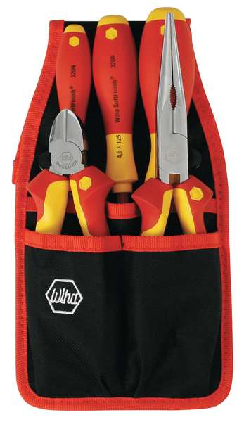 Wiha Tools Insulated Tool Set, 5 pc. 32872.G
