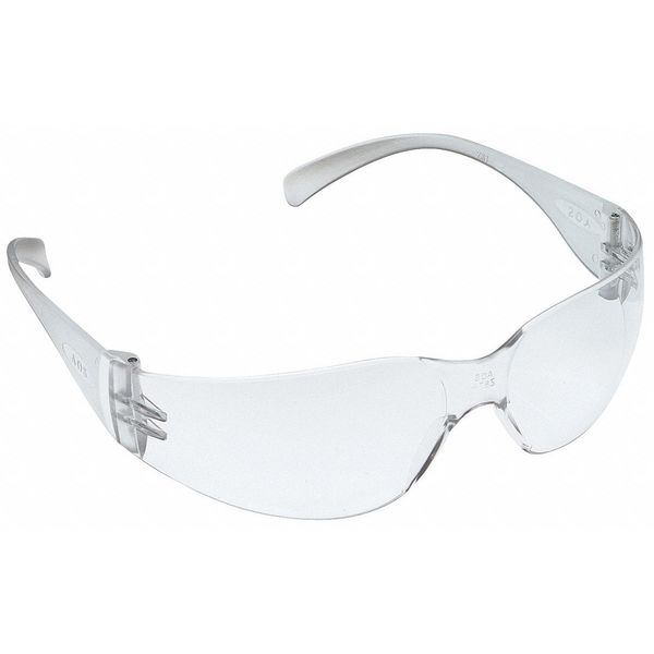 3M Virtua™ Safety Glasses With Clear Frame And Clear Uncoated Lens 11228-00000-100