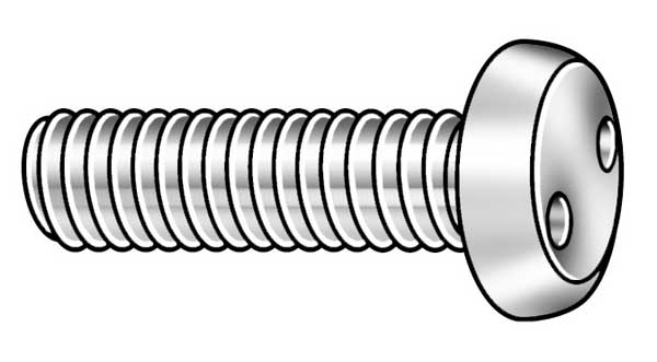 "Tamper-Pruf Screw #10-32 x 1-1/2"" Pan Head SPan Headner Tamper Resistant Screw,  25 pk. 121265"