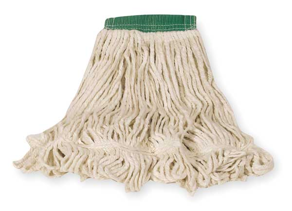 Rubbermaid Super Stitch(R) 4-Ply Cotton/Synthetic Blend Yarn Wet Mop,  Looped,  White FGD25206WH00