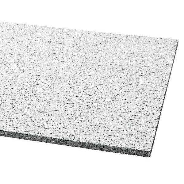 Armstrong Fissured Ceiling Tile ,  24 in W x 24 in L,  16 PK,  0.55 NRC 756A