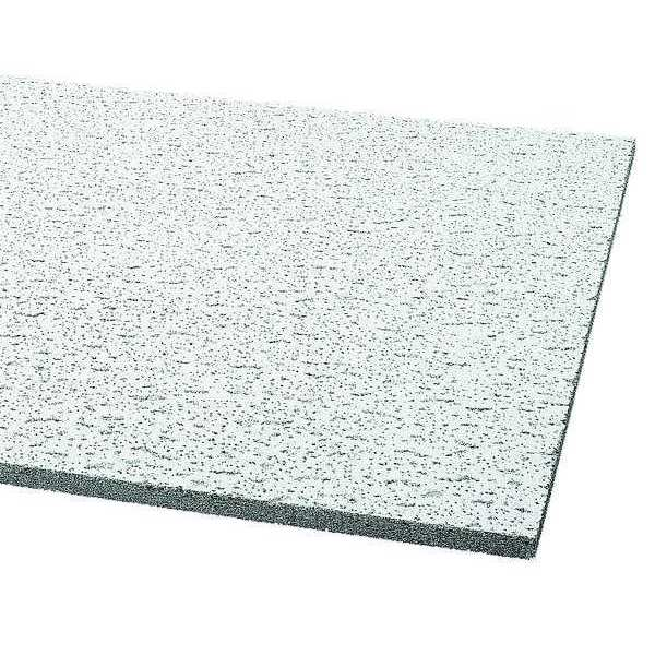 Armstrong Fissured Ceiling Tile,  24 in W x 48 in L ,  PK12 755B