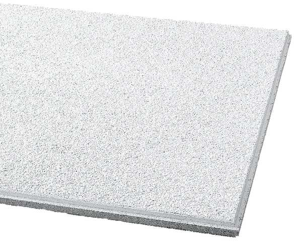 Armstrong Cirrus Ceiling Tile ,  24 in W x 24 in L,  12 PK,  0.7 NRC 589BN