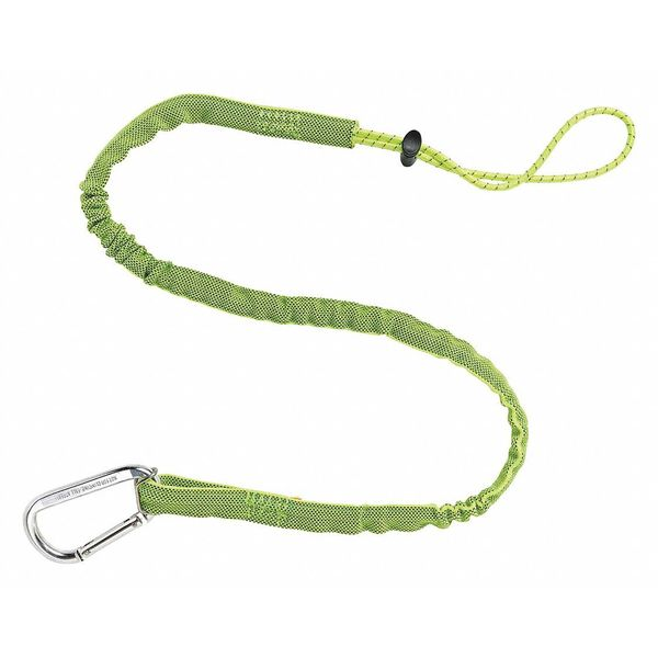 Ergodyne Tool Lanyard, 35 to 42 In. L, Lime, 10 lb. 3100