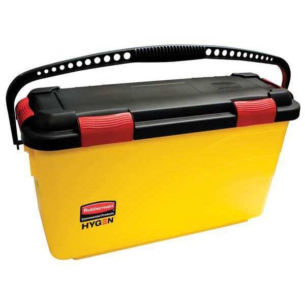 Rubbermaid Disinfectant Mop Bucket, 7 gal., Yellow FGQ95088YEL