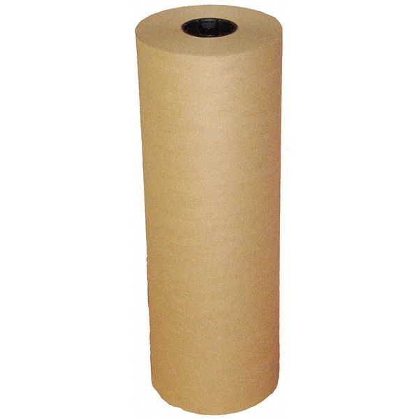 "Zoro Select Natural Kraft Paper 36"" x 600 ft.,  60 lb. Basis Weight 5PGP4"