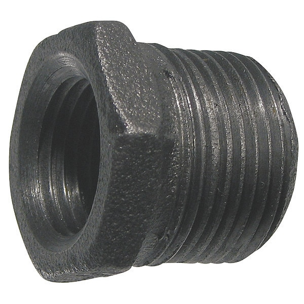 Zoro Select Malleable Iron Hex Bushing Class 150 521-916BC