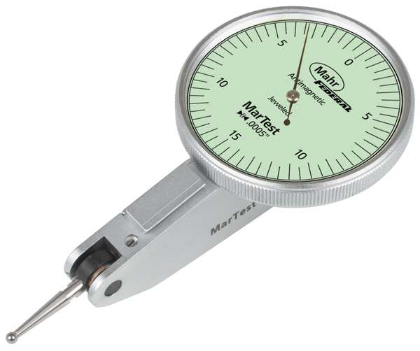 Mahr Inc Dial Test Indicator, Swl Hd, 0 to 0.030 In 4307950