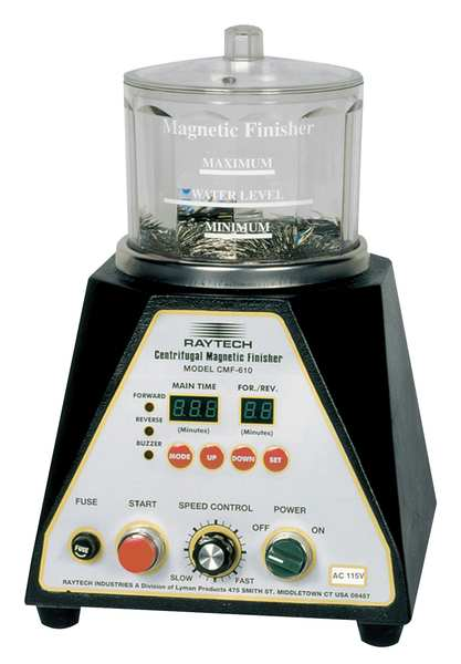 Raytech Centrifugal Magnetic Finisher, 2A, 4InDia. 23-049