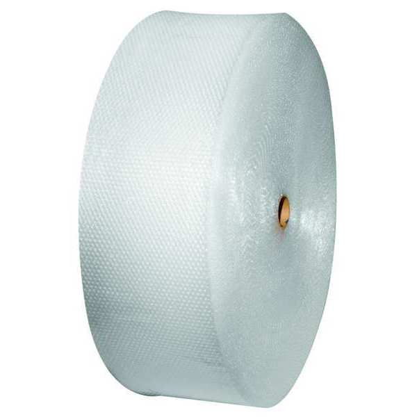 """Zoro Select Bubble Roll 48"""" x 375 ft.,  5/16"""" Thickness,  Clear 5VEN1"""
