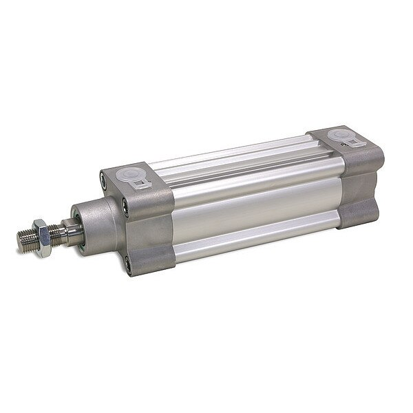 Speedaire 50mm Bore ISO Double Acting Air Cylinder 200mm Stroke 5VMA2