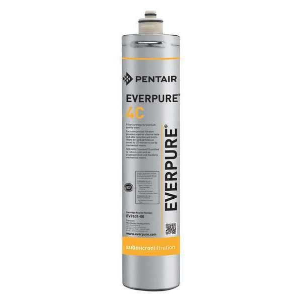"Pentair/Everpure 0.5 Micron,  3"" O.D.,  14 3/4 in H,  Replacement Filter Cartridge EV960100-75"
