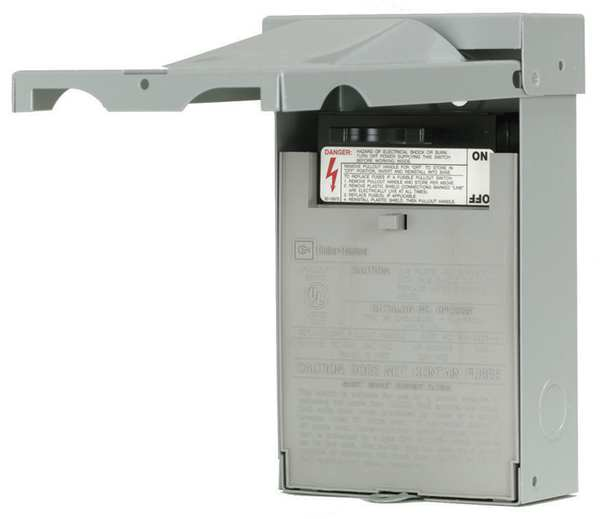 Eaton 30 A Amps AC 240V AC Air Conditioning Disconnect Switch DPF221R