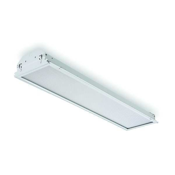 Lithonia Lighting Recessed Troffer, F32T8, 56W, 120-277V GT8 2 32 A12 MVOLT GEB10IS