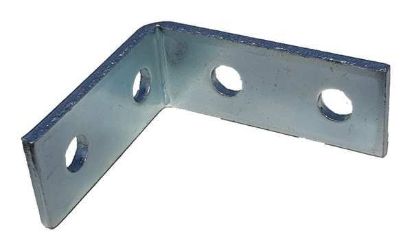 Zoro Select Channel Angle Plate, Silver V325EG