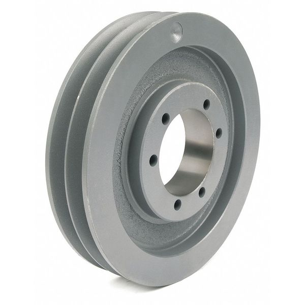 """Tb Wood'S 1/2"""" to 2-1/2"""" Quick Detachable Bushed Bore 2 Groove 8.95 in OD 862B"""