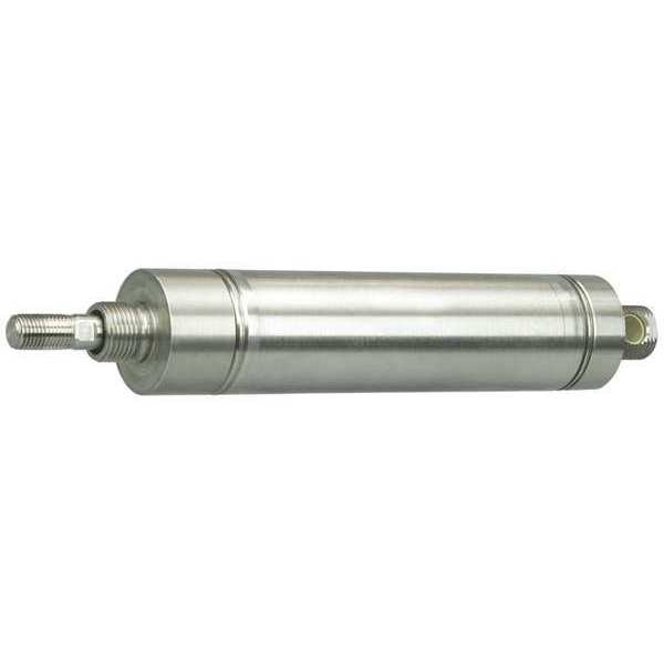 "Speedaire 1-1/16"" Bore Round Double Acting Air Cylinder 4"" Stroke 5ZEE6"