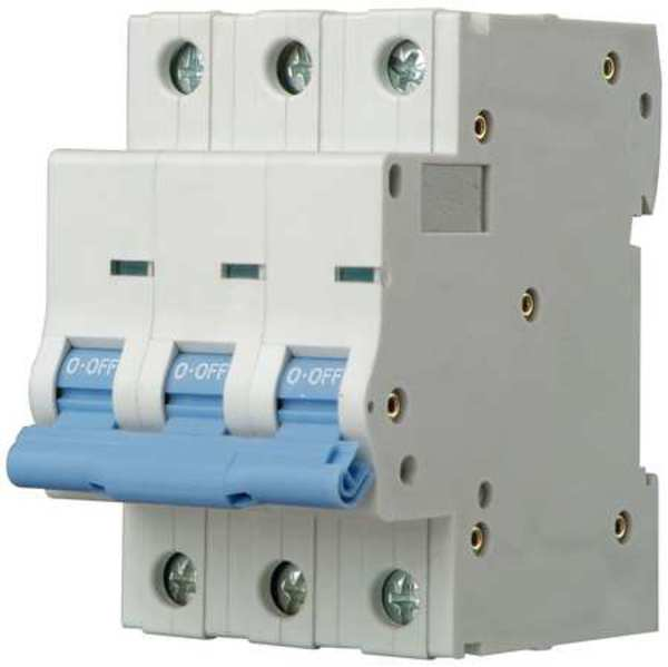 Dayton 40 A A DIN Rail IEC Supplementary Protector ,  480V AC Not Rated 5ZVD0