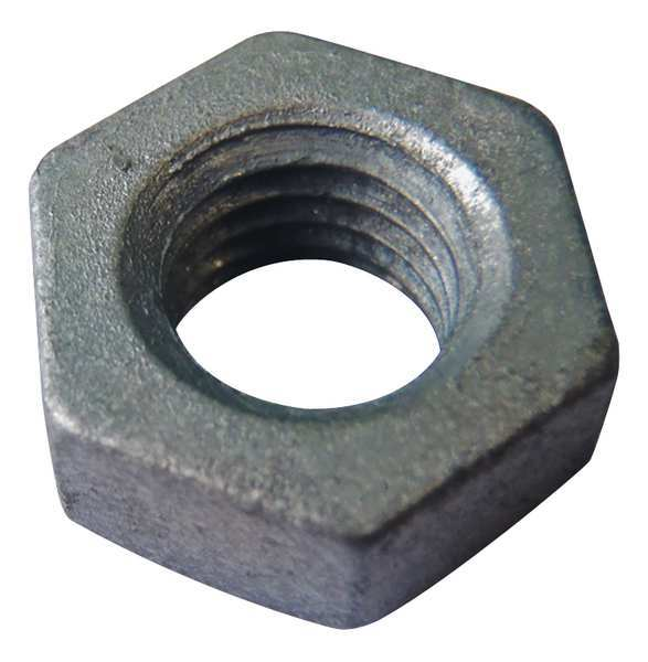 "Fabory 5/8""-11 Grade 2H Hot Dip Galvanized Finish Carbon Steel Heavy Hex Nuts,  25 pk. U22281.062.0001"