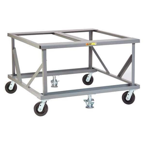 "Little Giant Mobile Pallet Stand, Fixed Height, 40x48"" PDF-4048-6PH2FL"