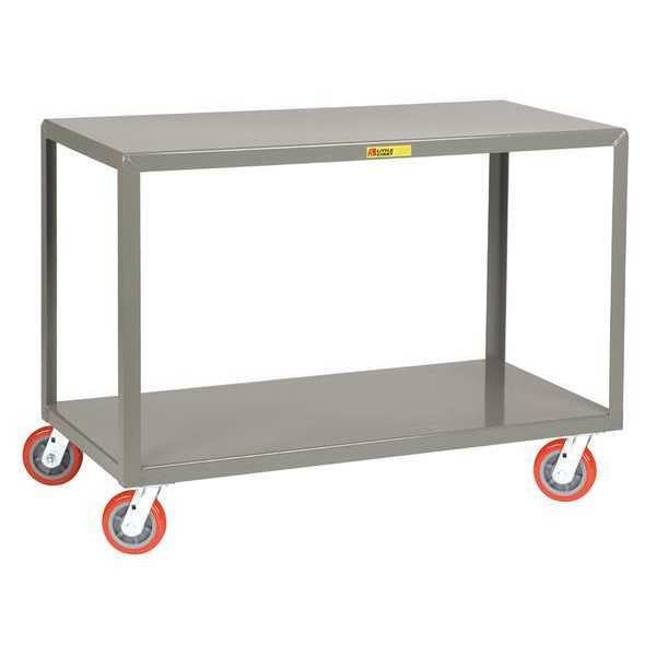 "Little Giant Mobile Tables, 2-Shelf, 3600 lb., 36 x 72"" IP-3672-2-6PY"