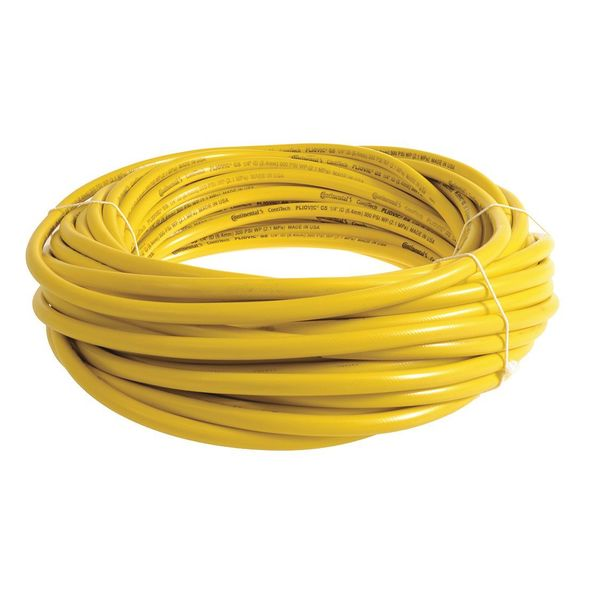 """Continental 1/2"""" ID x 200 ft. PVC Air Hose 300 PSI YL PLY05030-200"""