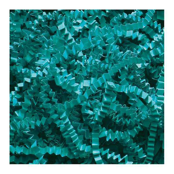 Partners Brand Crinkle Paper, 10 lb., Teal CP10R