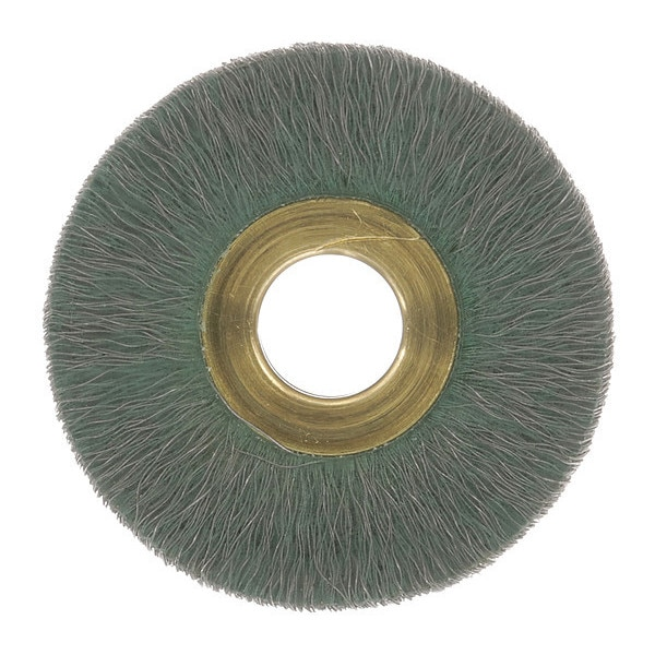 "Osborn Encapsulated Wheel Brush, 1-1/2"" 0001162300"