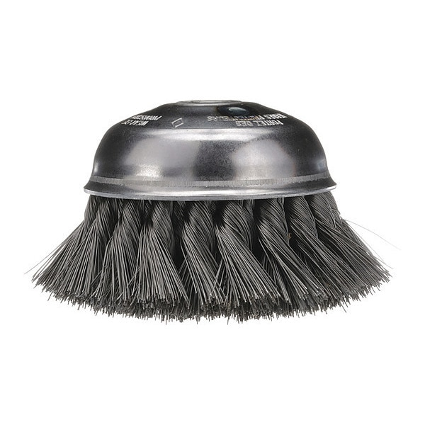 """Osborn Knot Wire Stagger Row Cup Brush, 5-3/4"""" 0003319800"""