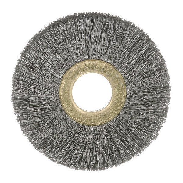 "Osborn Crimped Wire Wheel Brush, 1-1/4"" 0001101000"