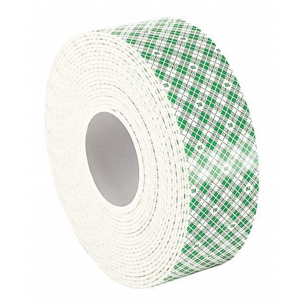 """3M 3M 4016 Double Coated Foam Tape 1"""" x 5yd,  White,  1/16"""" thick 4016"""
