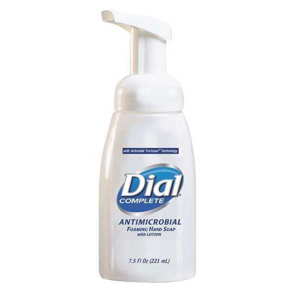 Dial Complete Hand Soap,  Foam,  Antimicrobial,  PK12 DIA 81075