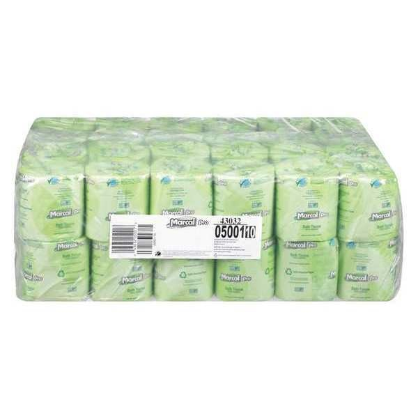 Marcal Pro Recycled Bath Tissue, 504 Count, PK48,  2,  504 MAC 5001