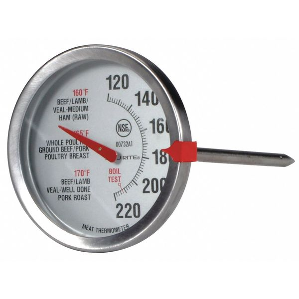 Acurite Oven Safe Meat Thermometer, SS 00732A2