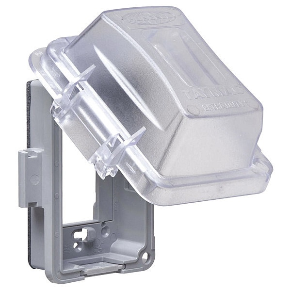 """Taymac 1 -Gang Multi-directional While In Use Weatherproof Cover,  4.5"""" W x MM420C"""