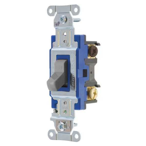 Bryant 4803bgry  8 22 Wall Switch  15a  Gray  3