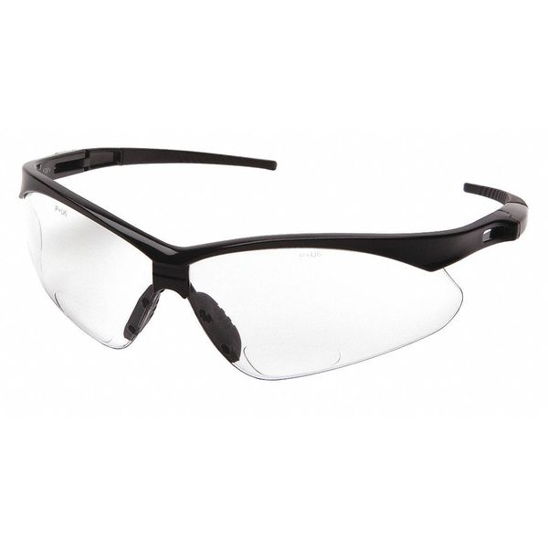 Condor Safety Reading Glasses, +1.50, Clear 52YP37