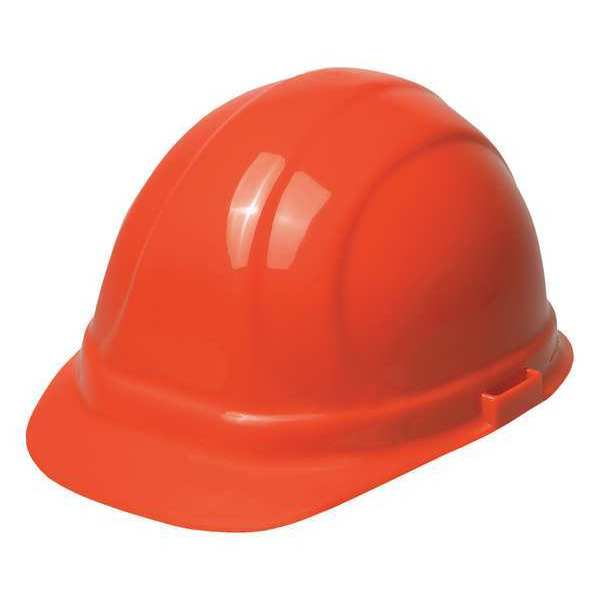 Omega Ii Hard Hat, 6 pt. Ratchet Suspension, Orange 19953