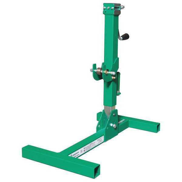 """Greenlee Textron Reel Stand, 17-5/8"""" W, 10"""" H, 6000 lb. Cap. RXM"""