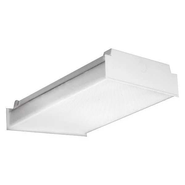 "Hubbell Lighting - Columbia LED Wraparound Fixture, 49W, White, 48""L LAW2-35ML-EDU"