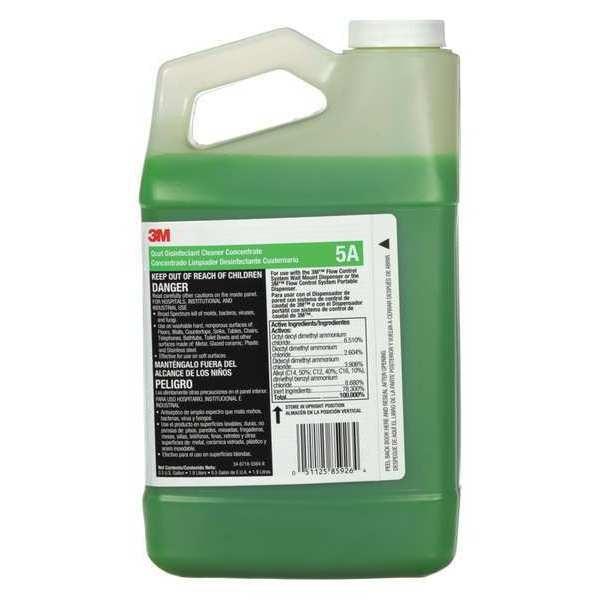 3M Disinfectant Cleaner Concentrate,  64 oz. Bottle,  Pleasant scent 5A