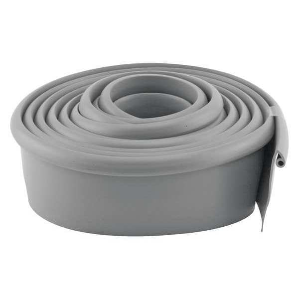 Primeline Garage Door Bottom Weatherstrip, Vinyl, Gy GD 12275