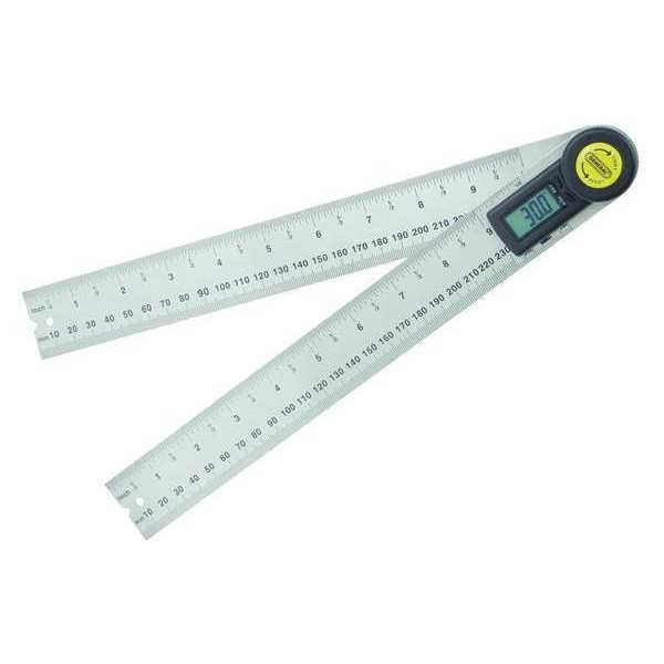 "General Tools Digital Angle Finder, 10"" Size, LCD 823"