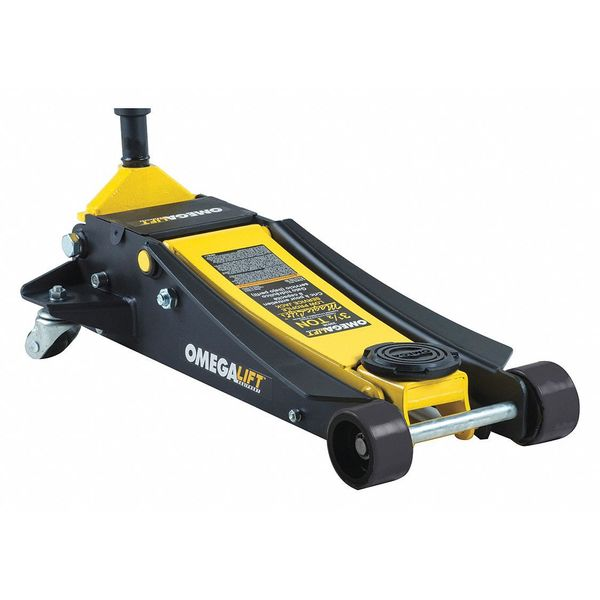 """Omegalift 3-1/2 Tons Hydraulic Service Jack 21"""" Max. Lifting H. 29038"""