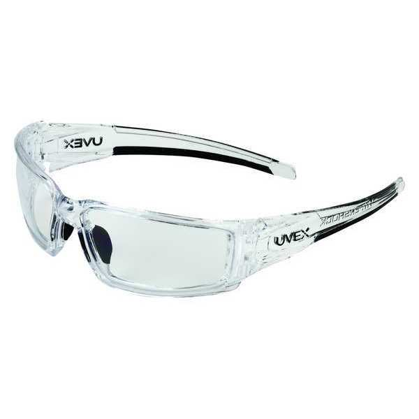 Honeywell Uvex Uvex Hypershock Safety Glasses,  Anti-Fog,  Hydrophobic,  Scratch-Resistant Lens,  Temple Color: Clear S2970HS