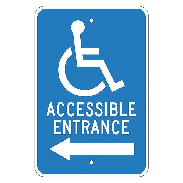 Nmc Accessible Entrance Sign TM150J