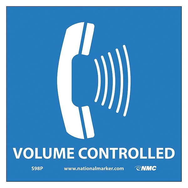 Nmc Ada Location Marker Volume Controlled Sign S98P